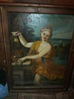 Hatalmas, kvalitásos festmény hagyatékból 1946