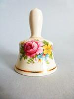 Angol Lady Eleanor rózsás porcelán csengő