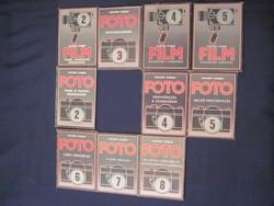 Ofotért Stúdió - Foto Film 10 db. könyv csomagban