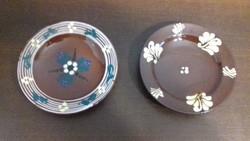 Városlődi majolika fali tányérok