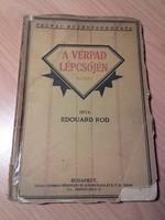 Antik könyv  Edouard Rod   A vérpad lépcsőjén - Európai irodalom, regény , novella