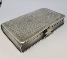 Orosz ezüst cigarettatárca