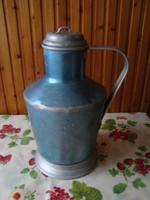 Ceglédi alumínium kanna, kék színű