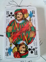 Bontatlan 2 pakli kártya (franciakártya) celofánban, dobozban, 1990