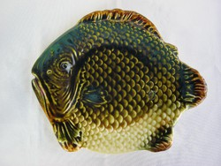 Gránit kerámia hal alakú tál tányér