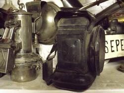 Antik Eredeti 1800 as veterán kerékpár petróleum lámpa Ritkaság