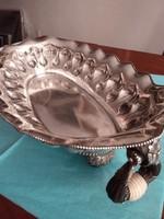 Kuriózum Hatalmas ezüst Jardiniere 1,7 kg