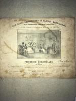 1839 Der Erste Lehrmeister Im Clavier- Unterricht. Friedrich Burgmüller. 3 Theille. Mainz bei