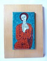 Lőrincz Vitus tűzzománc falikép