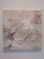 Absztrakt eredeti festmény 40x40 cm, akril vászonkép