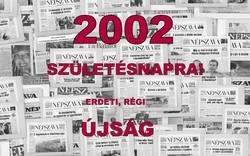 2002.04.11  /  18. SZÜLETÉSNAPRA!  /  NÉPSZAVA  /  Szs.:  13548