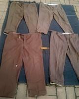 Rákosi vagy Kádár kori tiszti nadrágok,egyben a 4 plusz egy vállap, Néphadsereg