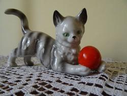 Porcelán cica