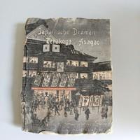Régi japán drámakönyv