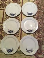 Román sütis porcelán tányér