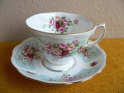 Angol, Royal Albert porcelán csésze alátéttel