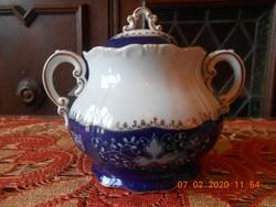 Zsolnay Pompadour II nagyméretű teás cukortartó