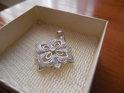 Termeszetes Gyemant Art Noveu SI 1 - SI 2 925 Ezust Medal