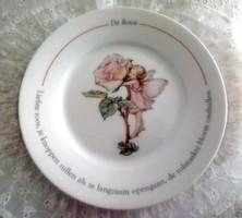 Tündéres tányér 2db/db