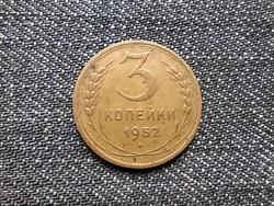 Szovjetunió (1922-1991) 3 Kopek 1952 / id 15963/