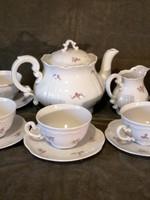 Zsolnai porcelán teáskészlet