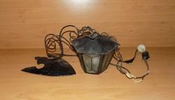 Retro kovácsoltvas fali lámpa (n)