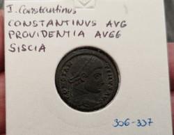 Constantinus (Siscia verde) Gyönyörű!