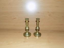Réz gyertyatartó párban 10 cm (14/d)