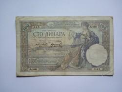 100 Dínár 1929 !! ( 2 )
