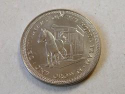 KK609 1976 Isle of Man One crown érme eredeti kapszulában