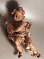 Dúsan aranyozott angyal putto angyalka karácsonyfa dísznek is