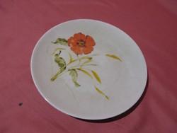 Pipacsos és kék virágos Bavaria kis süteményes tányér