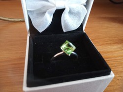 Modern ezüst gyűrű