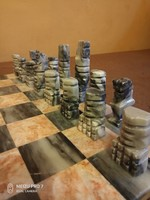 Márvány sakk készlet