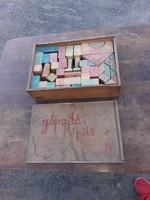 Pajtás építő kocka