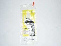 Retro Gaby márkájú háztartási kesztyű nejlon nylon zacskó - Pálma Gumigyár - 1980-as évekből