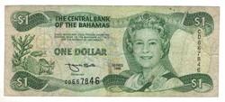 1 dollár 1996 Bahama