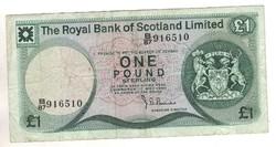 1 font pound 1980 Skócia Royal Bank