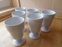 Seltmann Weiden Bavaria REGINA fehér porcelán talpas pohár bögre