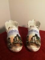 100 éves Porcelán emléktárgy Belgrádból