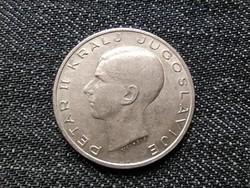 Jugoszlávia II. Péter (1934-1945) .750 ezüst 20 Dínár 1938 / id 16322/