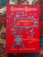 Egyetemes Regénytár.Almanach 1897