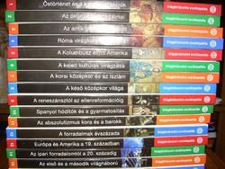 Világtörténelmi Enciklopédia 16 kötet - teljes!