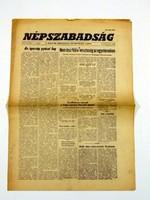 1972 február 23  /  NÉPSZABADSÁG  /  48. SZÜLETÉSNAPRA! Szs.:  13698