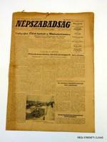 1972 február 24  /  NÉPSZABADSÁG  /  48. SZÜLETÉSNAPRA! Szs.:  13697