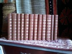 Szép irodalmi művek Franklin társulat kiadása12 kötet
