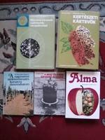 Szőlészet mezőgazdaság 5db könyv