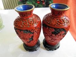Cinóber váza páros