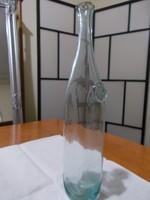 Tulajdonjegyes üveg az 1700-as évekből