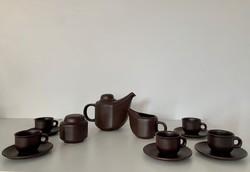 Retro Tófej kávéskészlet